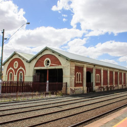 Echuca goods shed