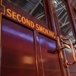 107M Second Smoking compartment